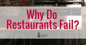 why do restaurants fail